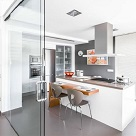 Kitchen Glass Door